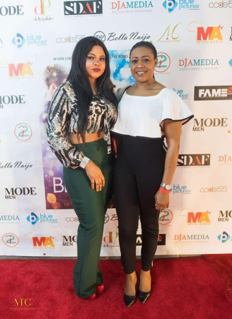 Tocyn Abiola with friend