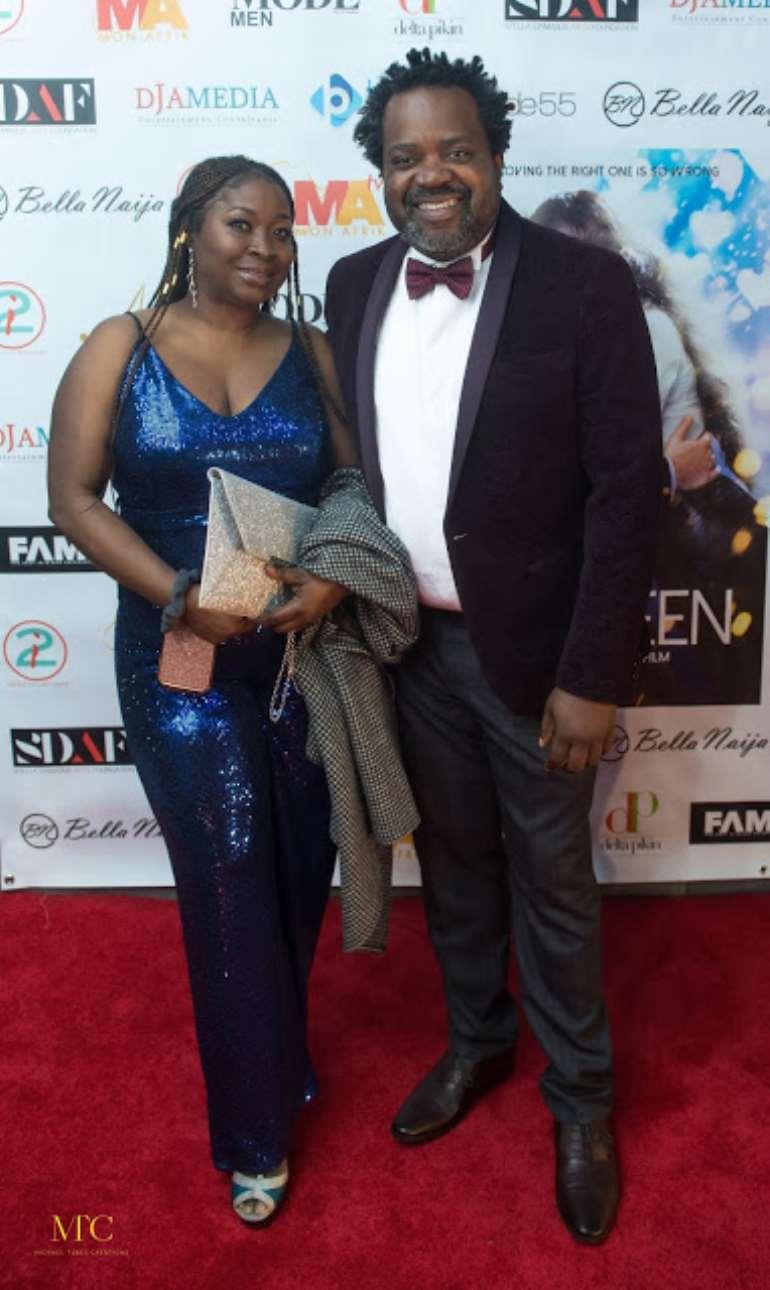Mr & Mrs Andrew Aderibigbe