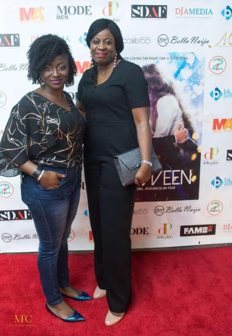 Dr Funmi Adewara (Mobi health) and Tolani Olorunfemi