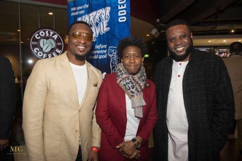 Dapo Oloja (Nolly Trailers), Weird Mc and Mike Aremu