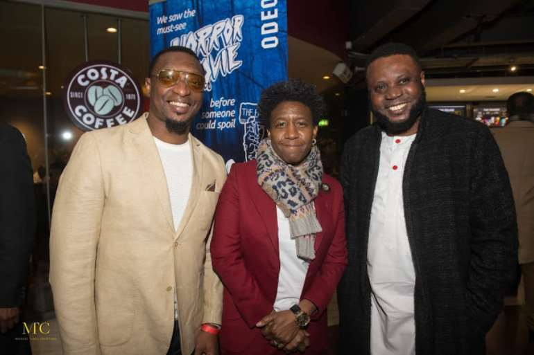 Dapo Oloja (Nolly Trailers), Weird Mc and Mike Aremu