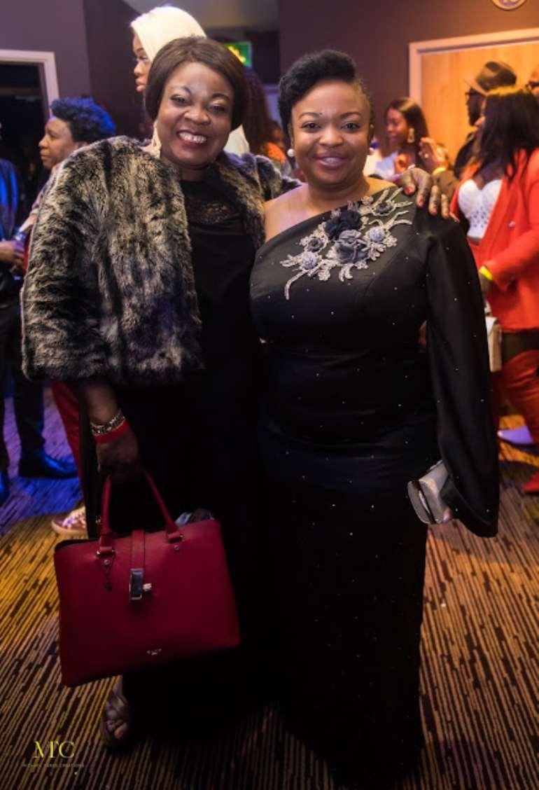 Yemi Akinola and Vivian Fasoyiro