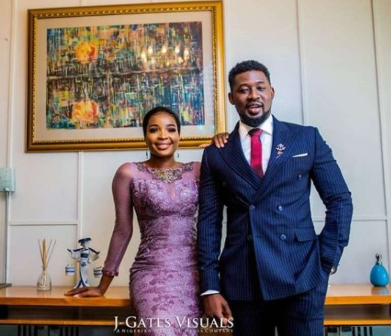 Nollywood Actor, Daniel K Daniel Releases Pre-Wedding Photos.