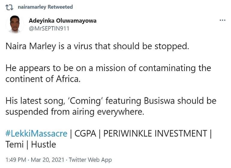 322202133443 adeyinka vs naira marley