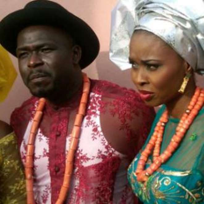 Marvelous Odiete weds Joy llibeno