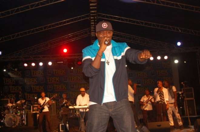 """Fellow Trek headliner Mr. Raw, whose last performance on Star Music Trek took place in Asaba before a sell out crowd said young artistes have tremendous talent to offer in an industry that can greatly utilize it. Raw says the only way to improve is to consistently ensure that they are always growing """"It's a large industry and there's enough space for every talent to make a mark. But you have to constantly improve yourself be willing to learn and be consistent, with that, there's absolutely no way you won't succeed,"""