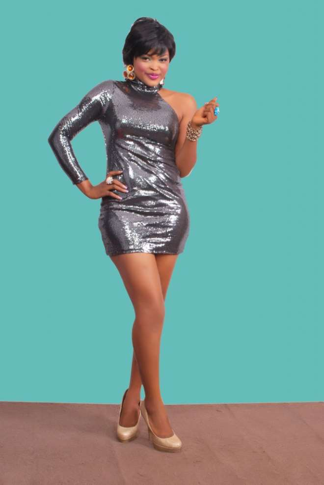 Sexy Nollywood Actress, Collette Orji, Another Rita -2347