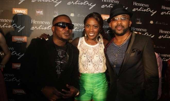 Eldee, Tiwa Savage and Banky W