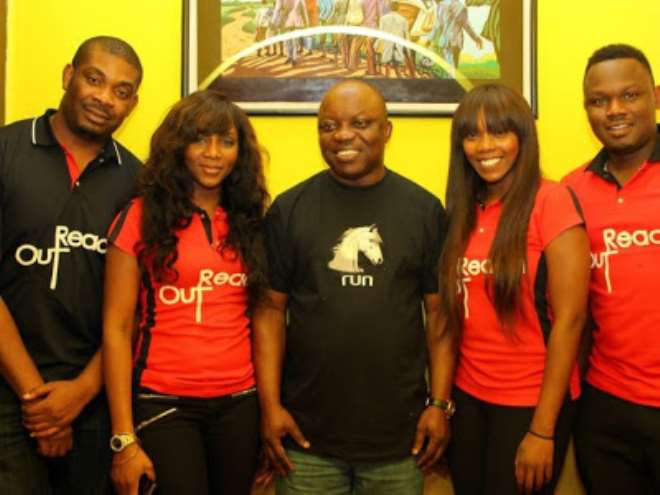 Don Jazzy, Genevieve, Emma Uduaghan, Tiwa Savage and Dr Sid