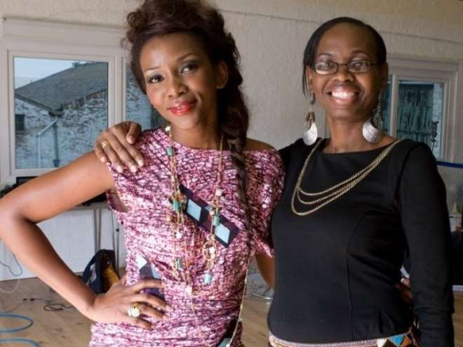 Genevieve with the Editor of New African Woman magazine, Regina Jane