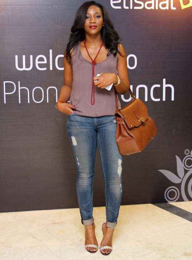 Genevieve Nnaji, Others Show Keen Interest In New Mobile -2705