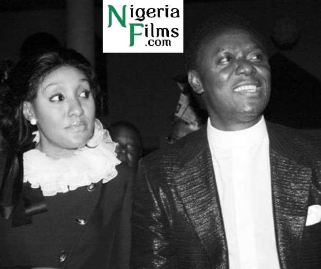 Pastor Chris Okotieand wife Stephanie before their divorce