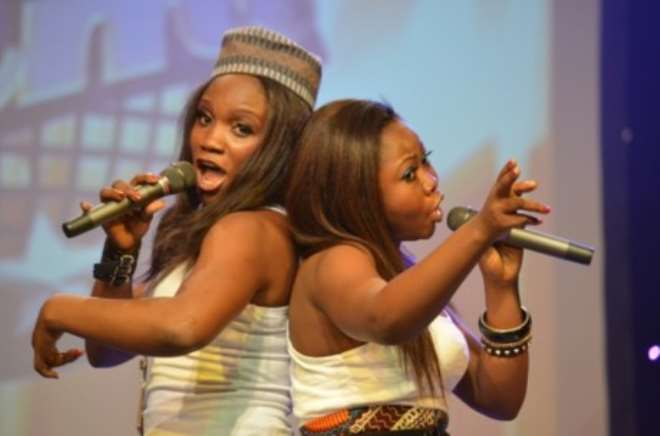 Ruth and Monica during their performance.jpg