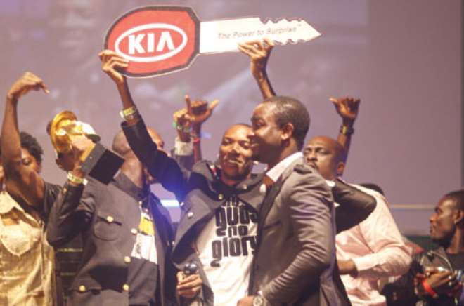 Hip Hop World Awards (HHWA) 2010, upcoming Hip Hop group, Skuki, is yet to receive their star prize - a car.