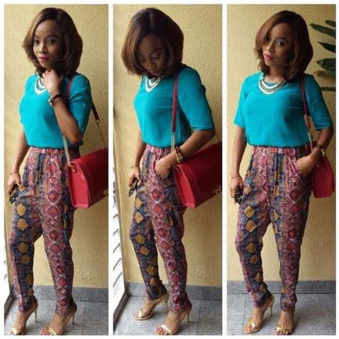 Fashion Police Report Toke Makinwa 39 S New Hair Colour