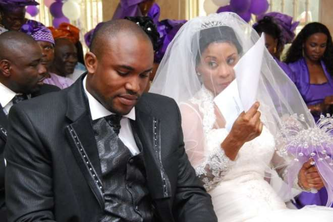 Tricia and Kingsley (Hubby)