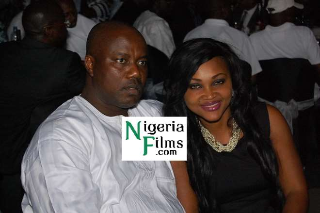 Mercy Aigbe and Hubby