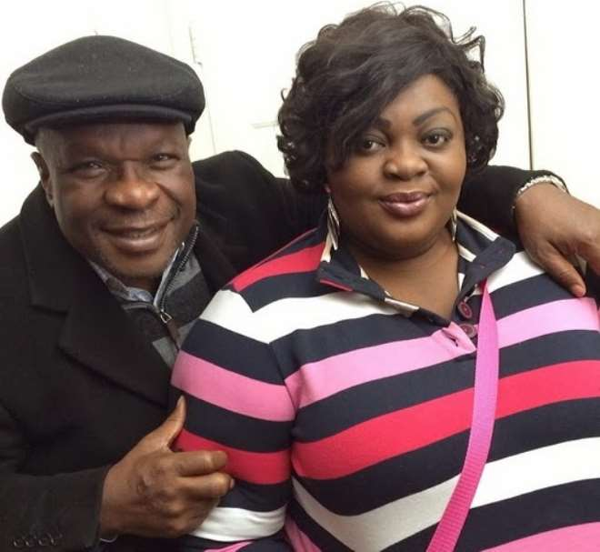 Olumide Bakare and Eniola Badmus in Atlanta