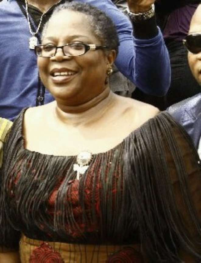 <b>•Onyeka Onwenu</b> is the Executive Director/Chief Executive Officer of the National Centre for Women Development (NCWD) Abuja-Nigeria. .jpg