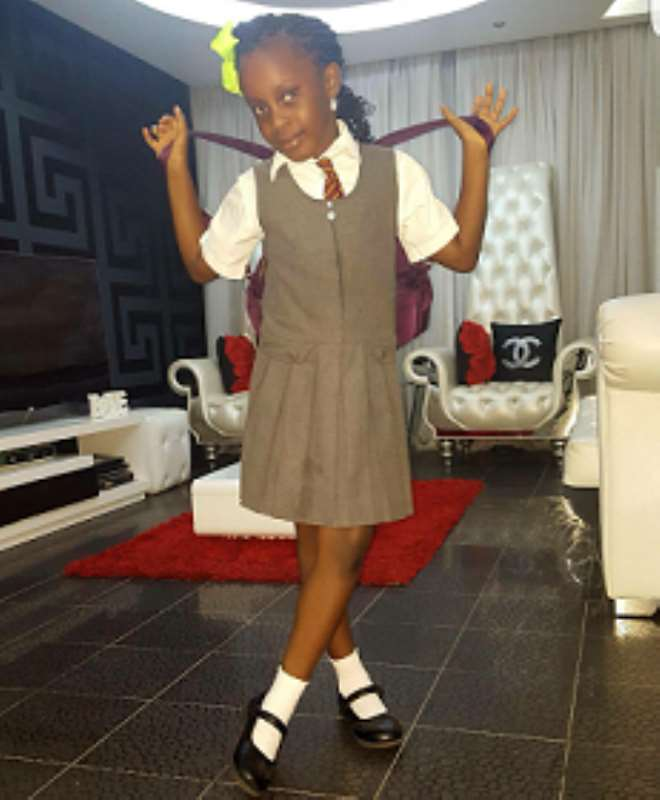 Image result for Comedian AY's daughter, Michelle (Amazing singer) pic