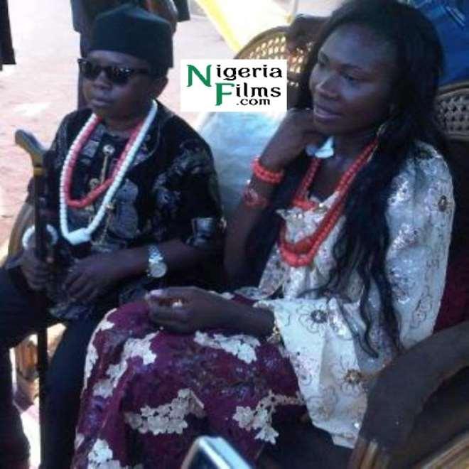 Aki and wife, Nneoma