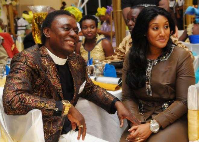 Rev. Chris Okoti and Stephanie Henshaw