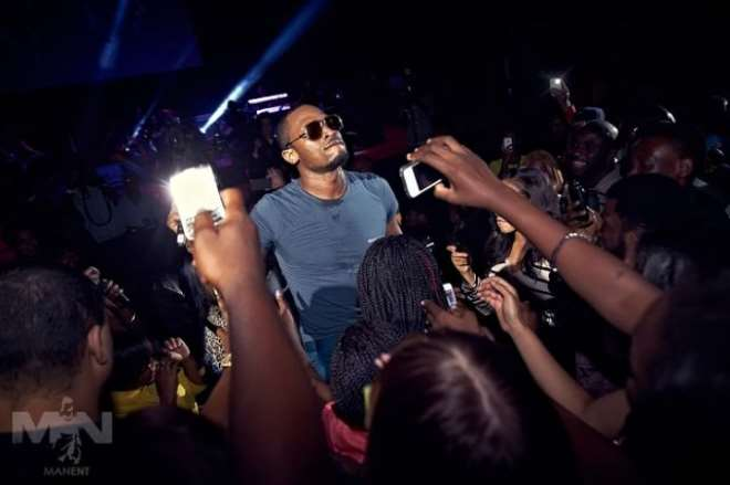 D'Banj in one of his performances