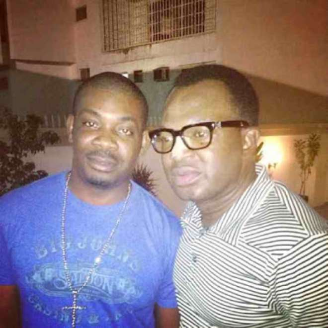 Don Jazzy with Princewill