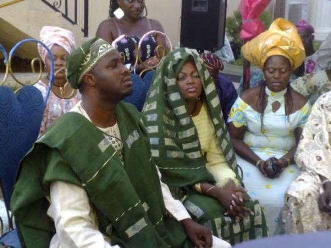 Femi Adebayo and Funke Akindele Jenifa