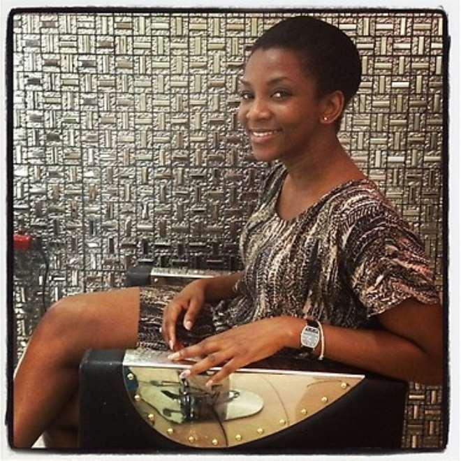 19030b21acf2 Genevieve Nnaji Rocks New Low-Cut Look