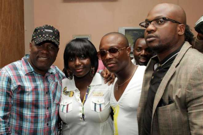 Julius with Kenny Ogungbe and friends<br>.jpg