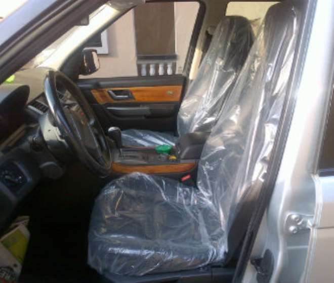 Iyanya's Range Rover