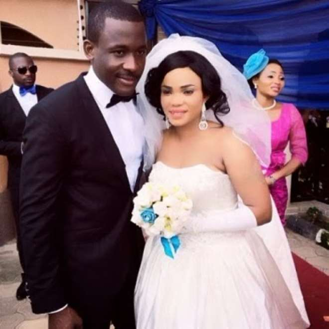 Joseph Benjamin has no doubt kicked-off his married man activities this year, as he just got married to actress, producer Iyabo Ojo in the movie entitled, Silence..jpg