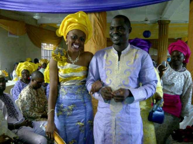 Baba Ijesha with Wife