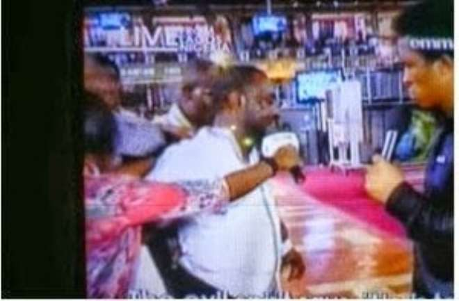 Update!! (Photos) Jim Iyke Just Got Delivered Of Witchcraft On TB