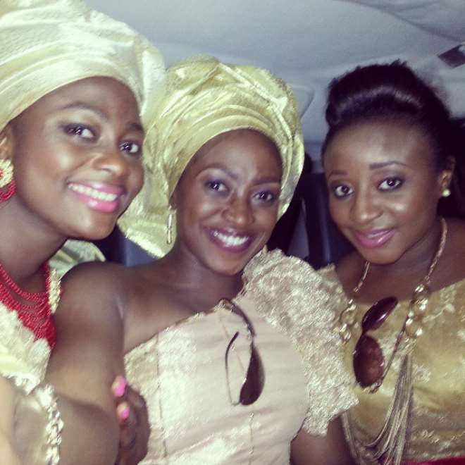 Ini Edo Kate Henshaw Shine At 2Face Annie Traditional Wedding Picture
