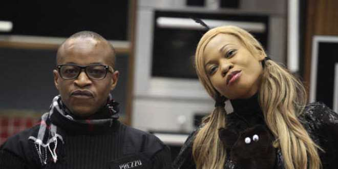 Prezzo with Goldie at BBA Stargame