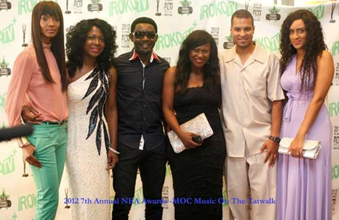 Uche with hubby, Kenny Rodriguez