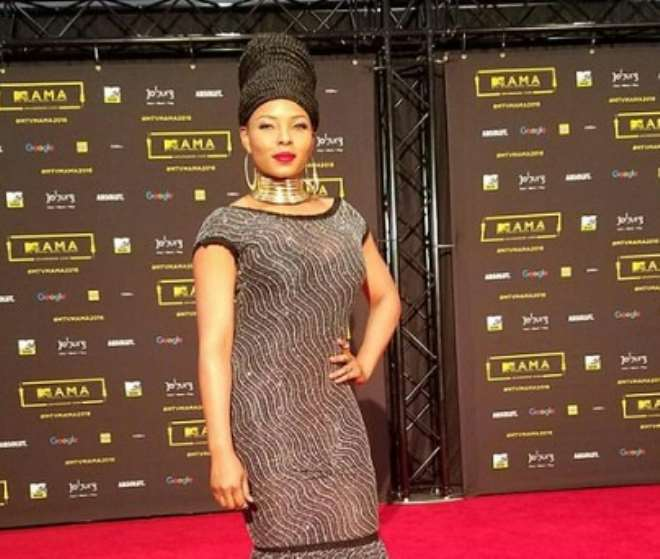 Yemi Alade And Her Mother At MAMA 2016 - Celebrities - Nigeria