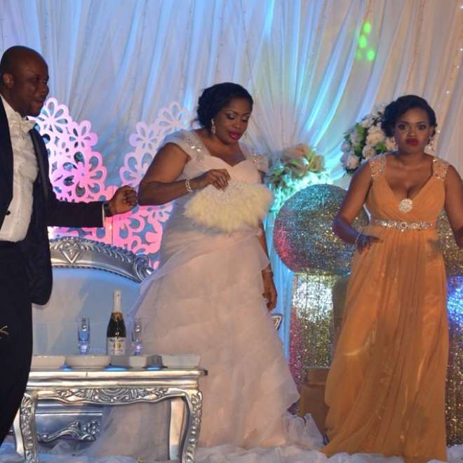 Photos From Gospel Singer Sinach's Wedding