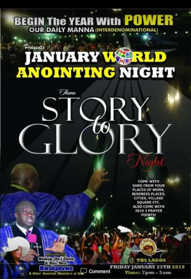 Bishop Chris Kwakpovwe Sets to Hold First Breakthrough Crusade in Lagos