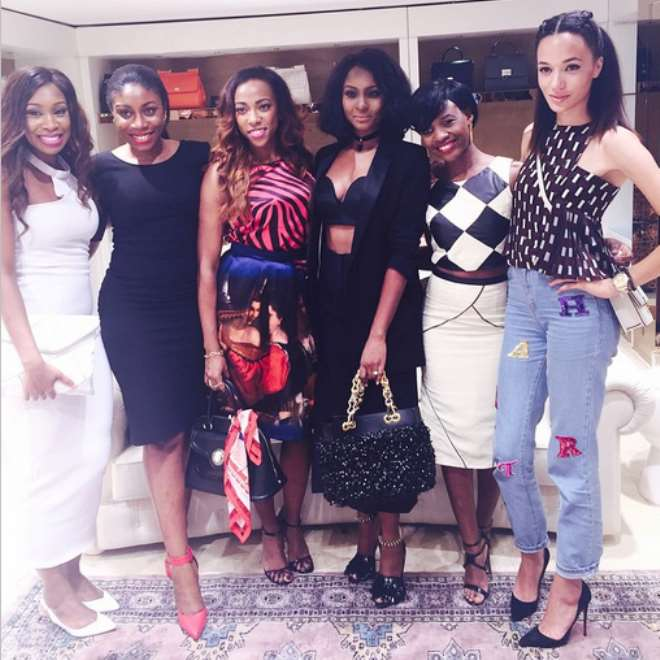 Pictures: What Celebs Wore To Genevieve Magazine Party In