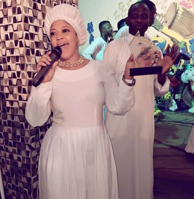 Actress Biodun Okeowo celebrates her man Kunle Adegbite ...
