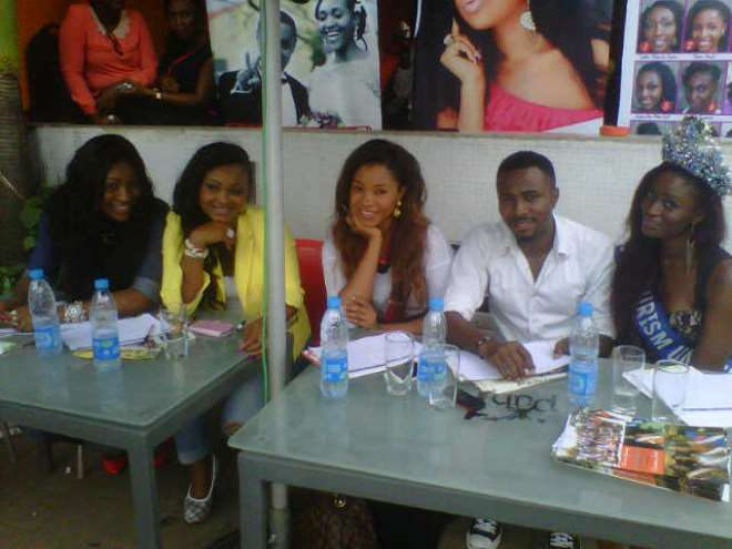 Mercy Aigbe, Ebube and other judges