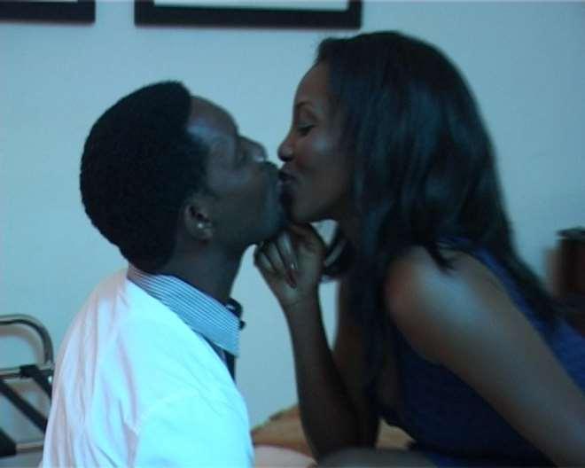 AY and Genevieve Nnaji in One Night Stand
