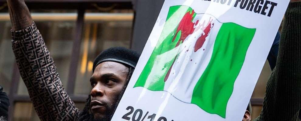 Covering The #endsars London Protest - Burna Boy Speaks