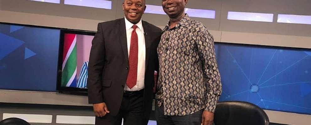 Africa's Biggest Tv Program Host Prince Ned Nwoko As He Speaks On Malaria Eradication In Africa