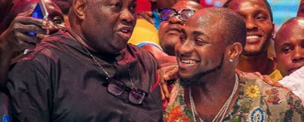 Dele Momodu, Davido Reconciles After Fighting Dirty In Public