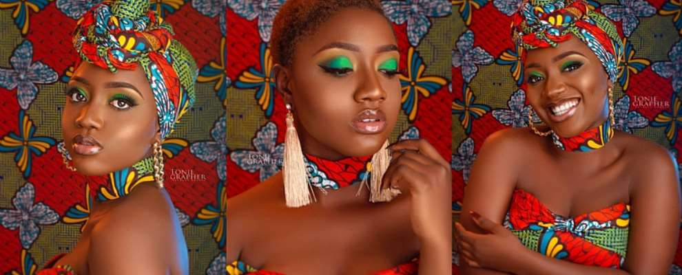 Most Beautiful Melanin Girl Universe Praise Aboaba Stuns In New Photos