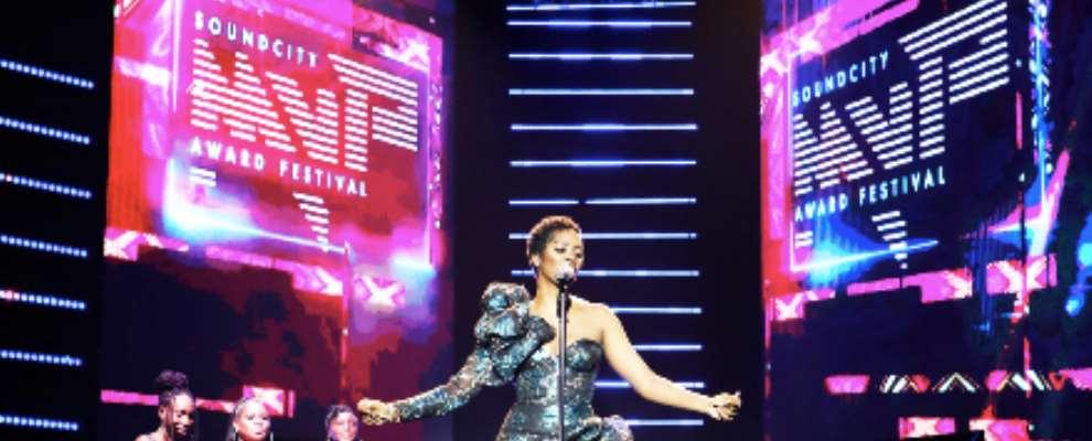 Watch Tiwa Savage And Diamond Platnumz's Performance At The Soundcity Mvp Awards -2020 Edition